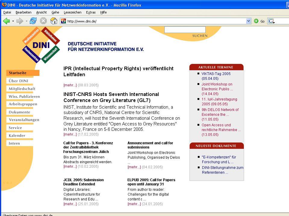 © Computer- und Medienservice, Humboldt-Universität zu Berlin Dr. Peter Schirmbacher 22.03.2005