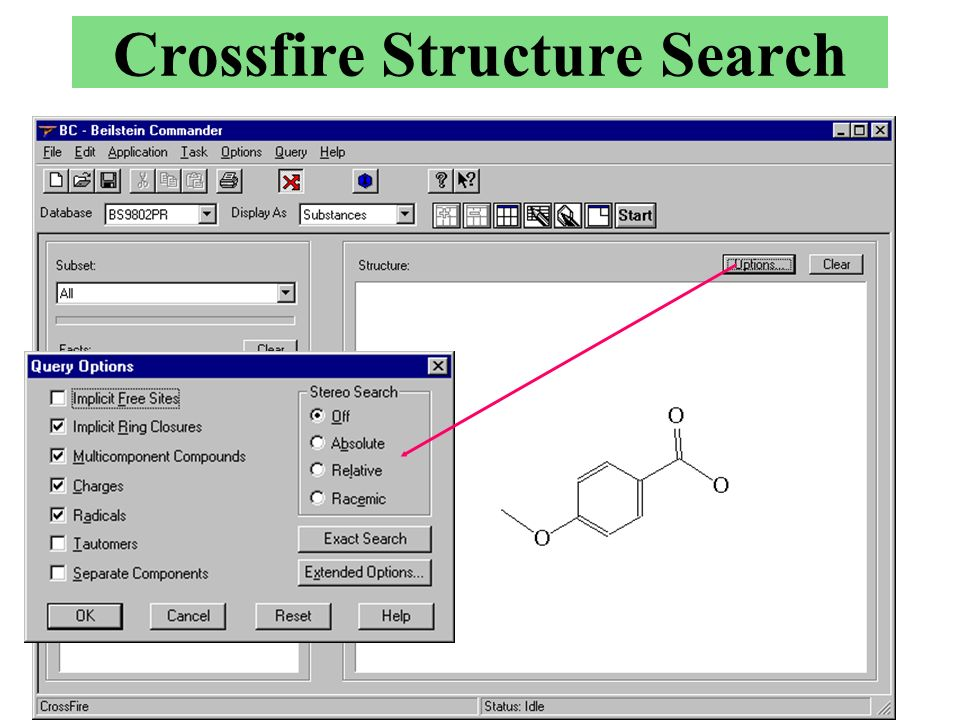 Crossfire Structure Search