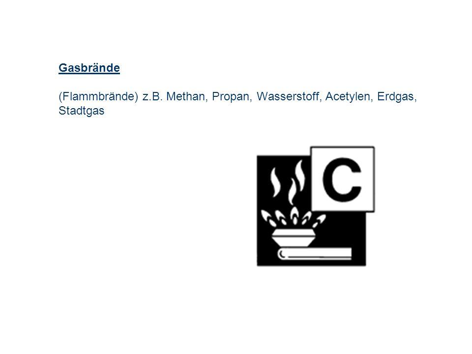 OBM Stefan Schiavulli www.ff-blofeld.de Ausbildung Feuerwehr Blofeld Folie 5 Gasbrände (Flammbrände) z.B. Methan, Propan, Wasserstoff, Acetylen, Erdga