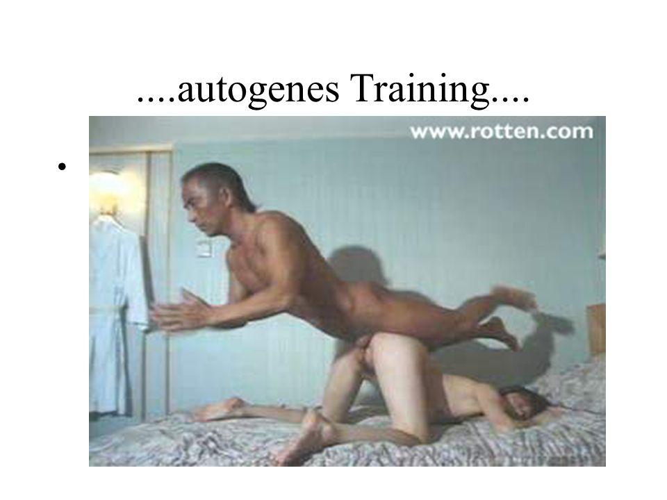 ....autogenes Training....