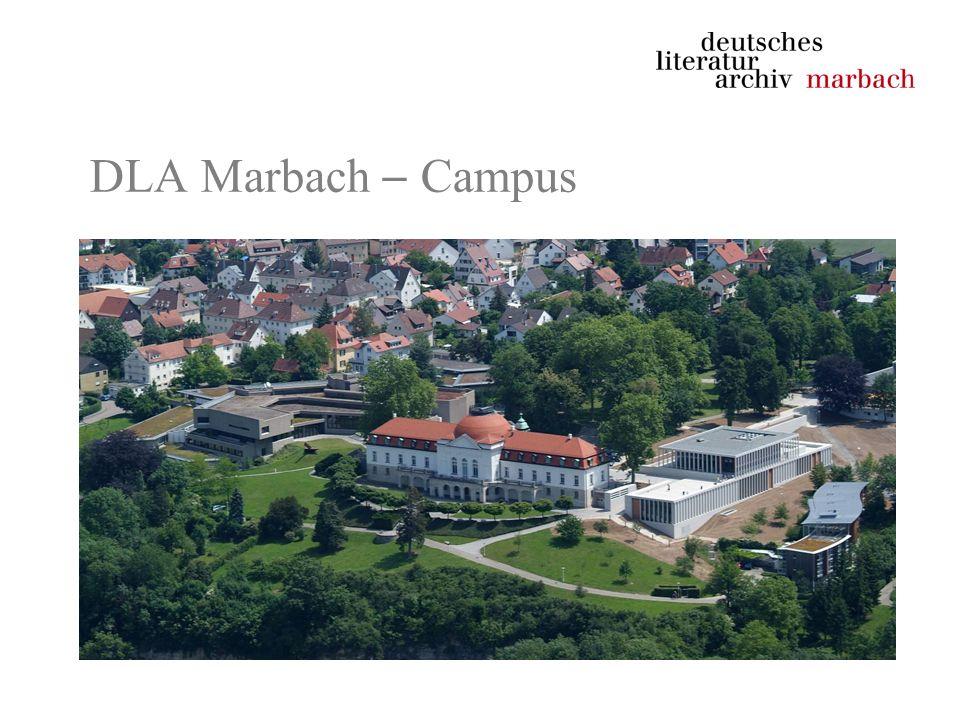 DLA Marbach – Campus