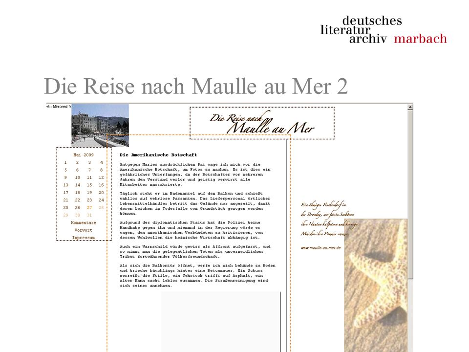Die Reise nach Maulle au Mer 2
