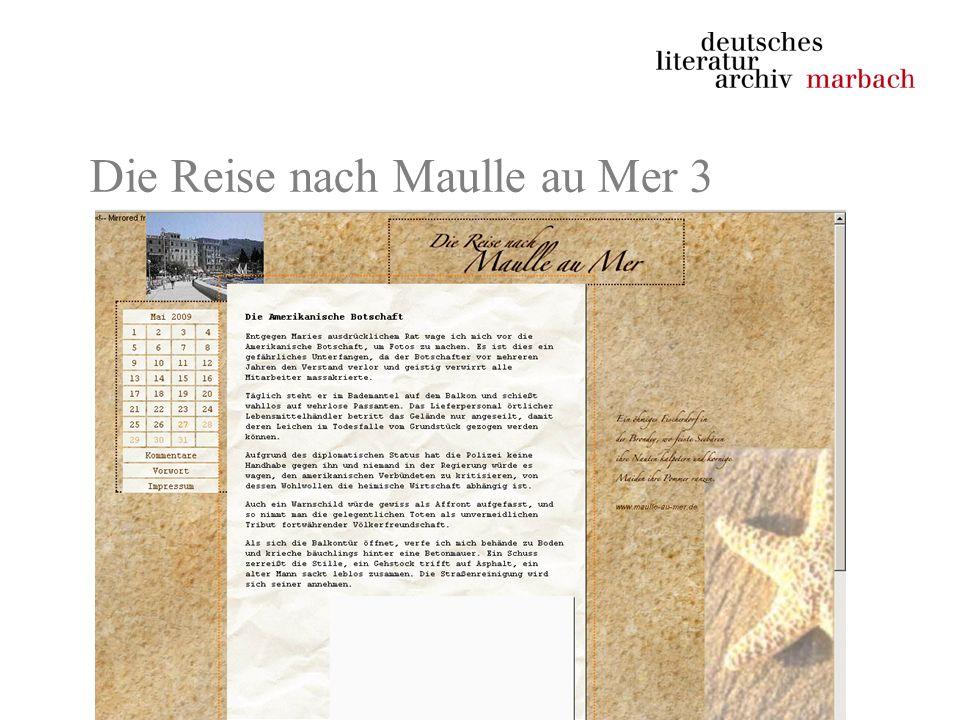 Die Reise nach Maulle au Mer 3