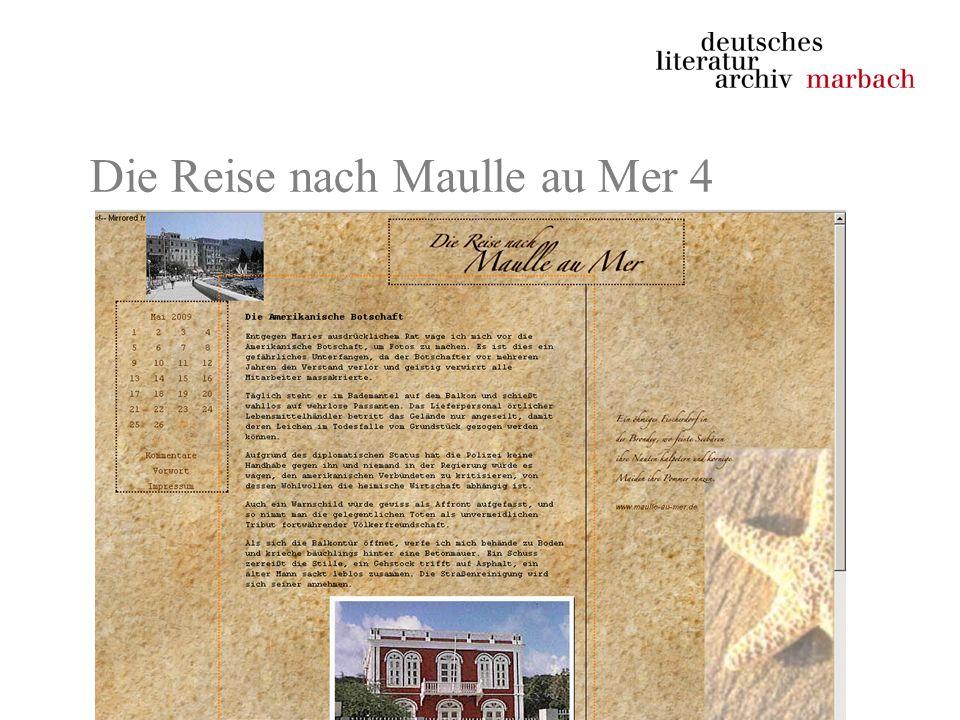 Die Reise nach Maulle au Mer 4