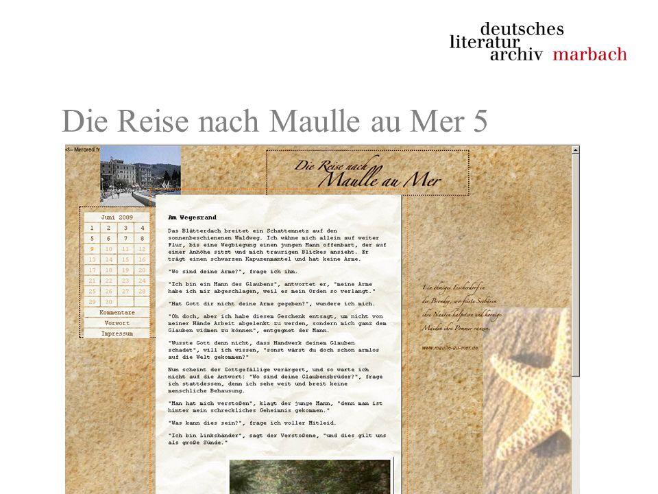 Die Reise nach Maulle au Mer 5