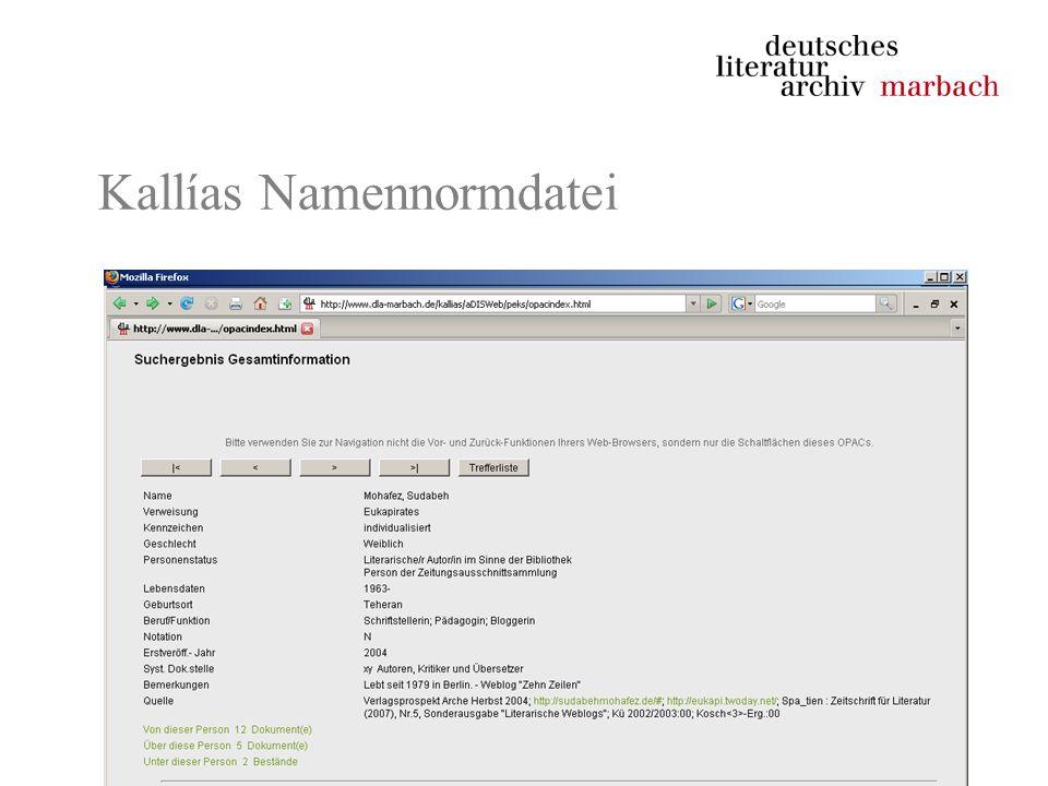 -Authentizität –Entsprechung von Original und Kopie -Zitierfähigkeit –Unveränderlichkeit der archivierten Ressource –Dauerhaftigkeit der archivierten Ressource