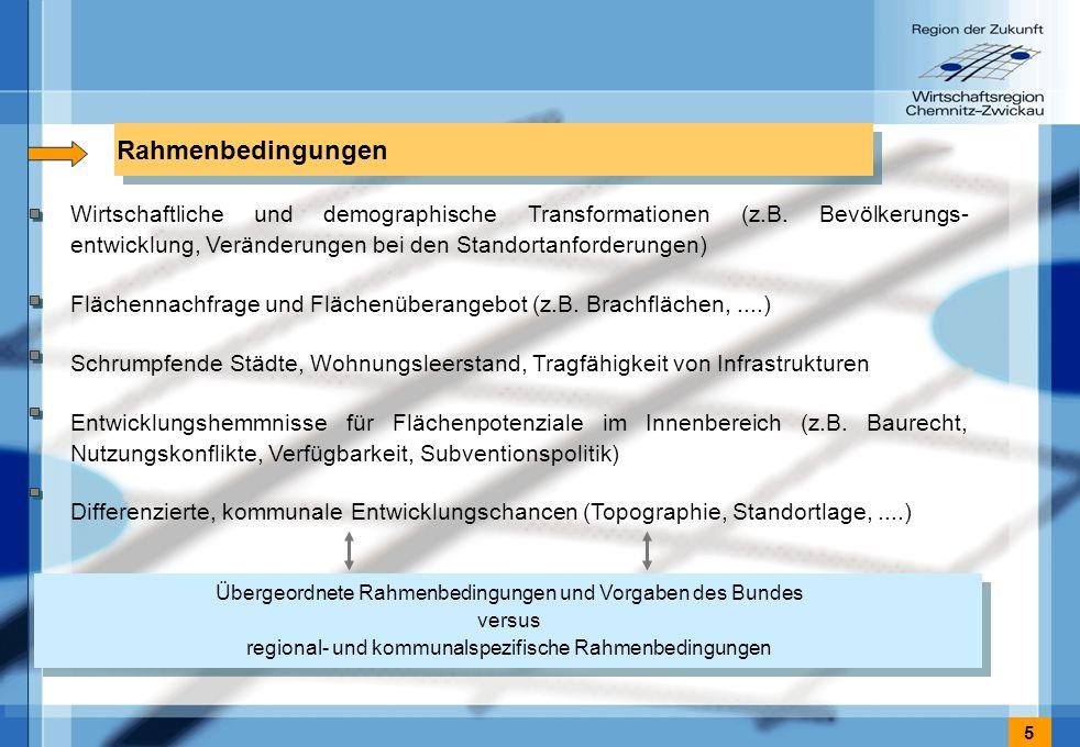 5 Rahmenbedingungen Wirtschaftliche und demographische Transformationen (z.B.
