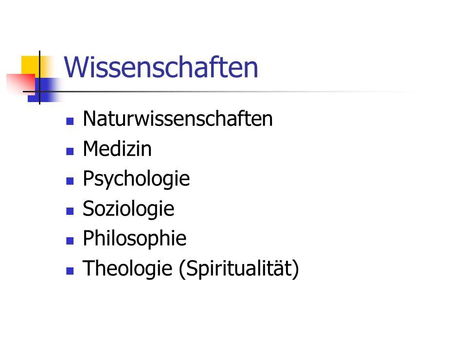 Gegenwartsanalyse Intransparenz Pluralismus Boom nach Ethik (Nikomachische Ethik) Boom nach Spiritualität Interdisziplinarität Komplementarität