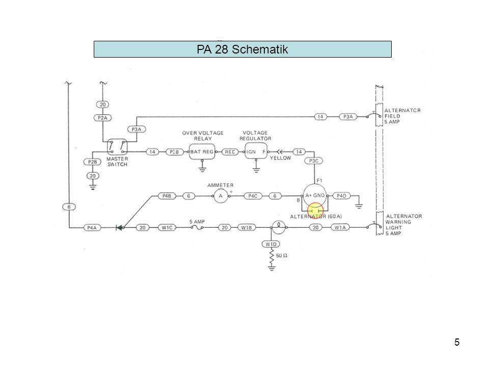 5 PA 28 Schematik