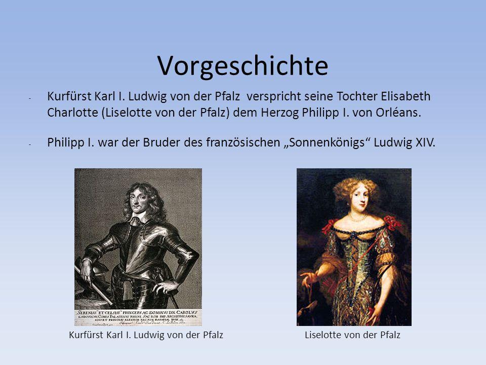 Vorgeschichte - Kurfürst Karl I.