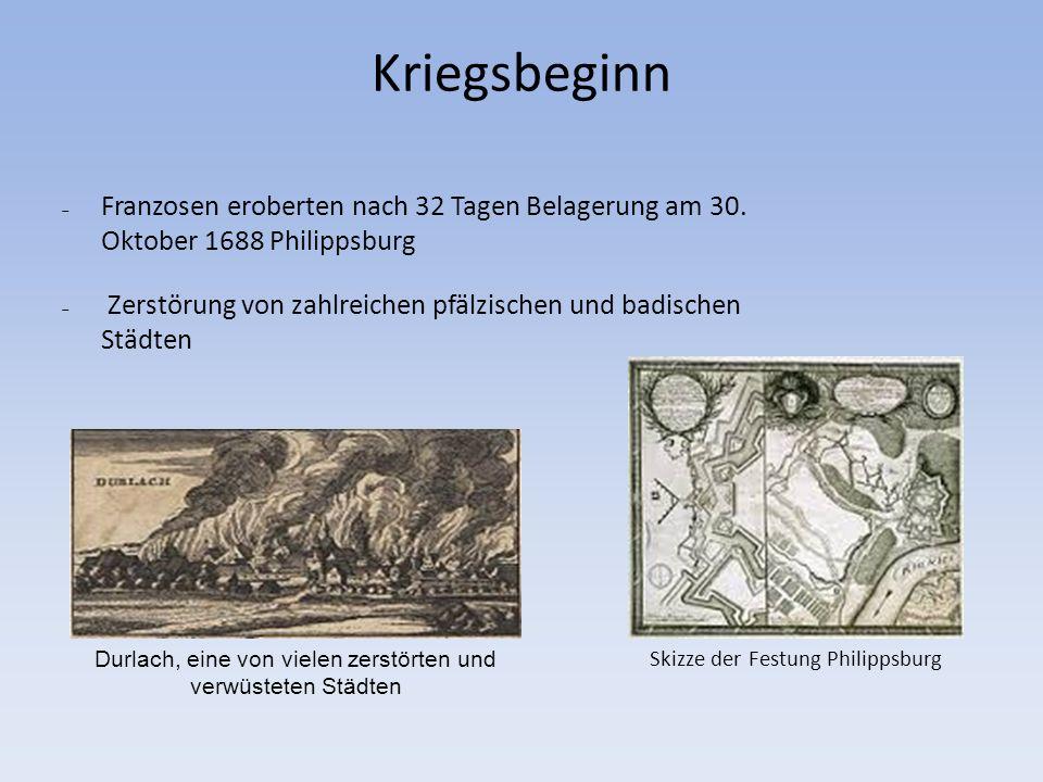 3.April 1689: Deutsches Reich erklärt Frankreich den Krieg.