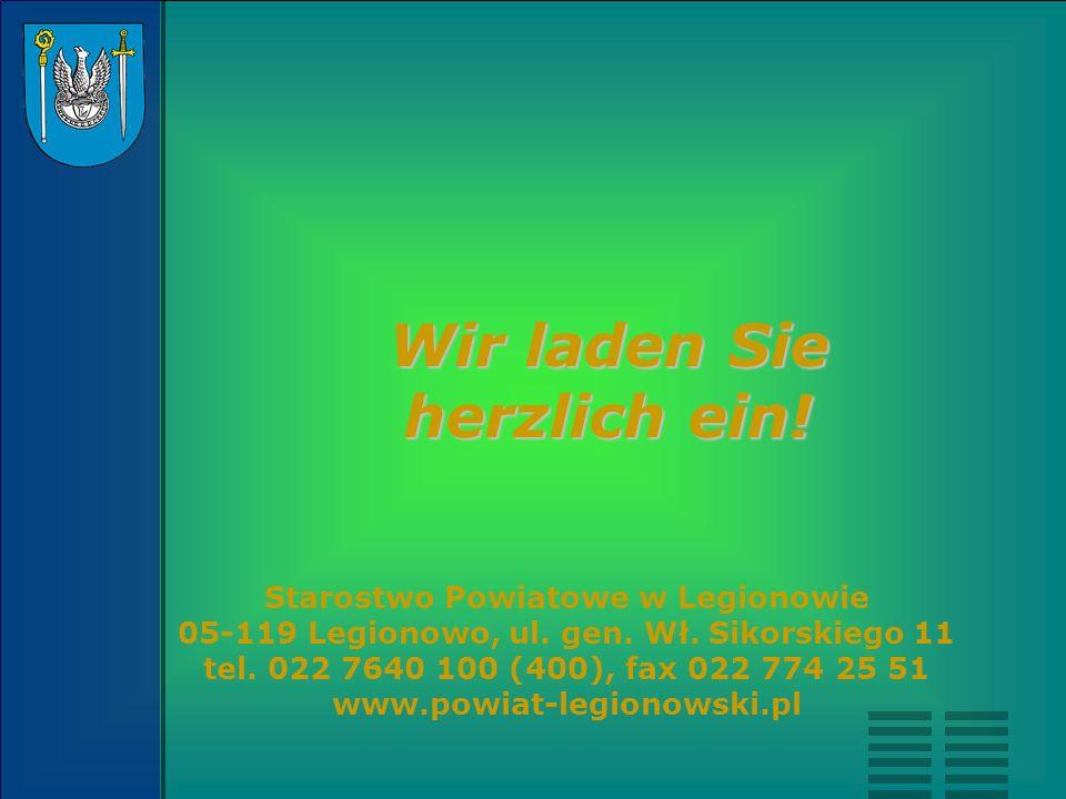Starostwo Powiatowe w Legionowie 05-119 Legionowo, ul. gen. Wł. Sikorskiego 11 tel. 022 7640 100 (400), fax 022 774 25 51 www.powiat-legionowski.pl Wi