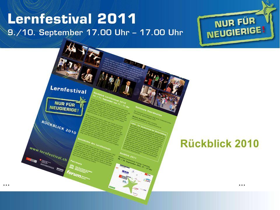 Rückblick 2010...