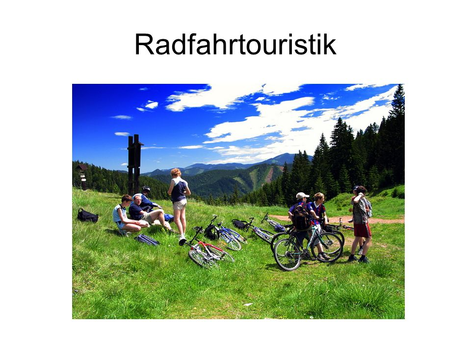 Radfahrtouristik