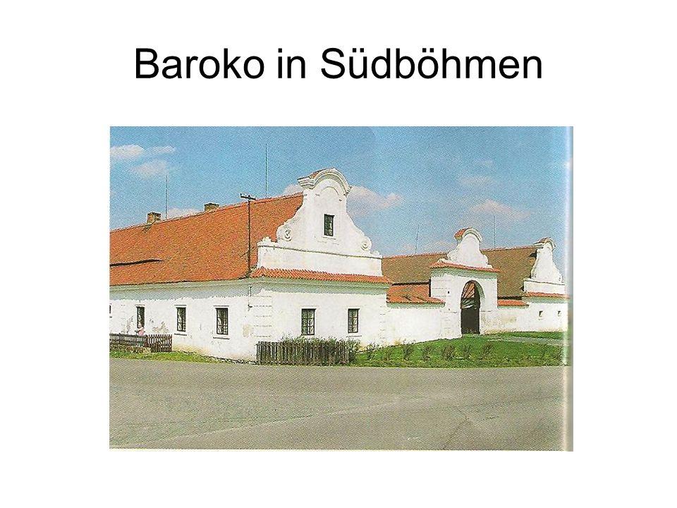 Baroko in Südböhmen