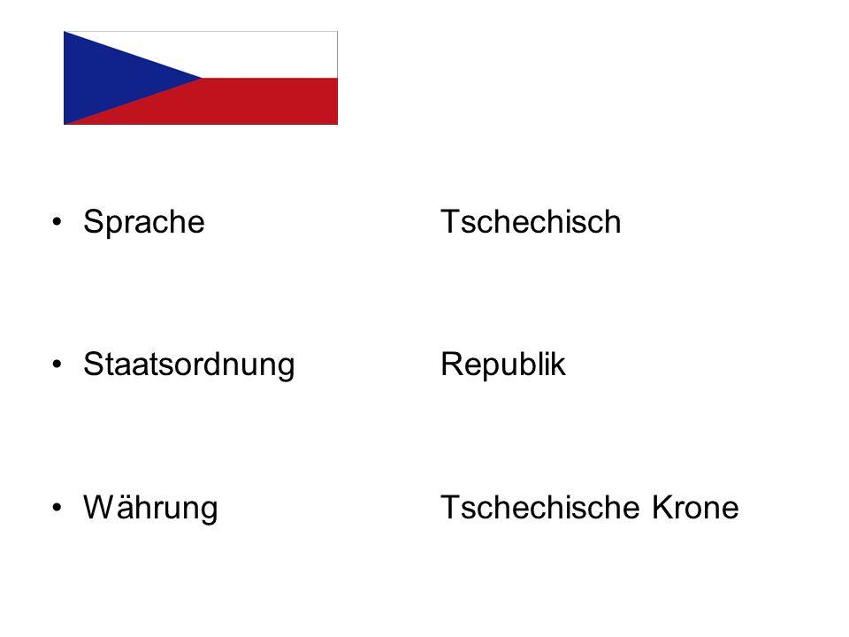 Am 1.Januar 1993 wurde die Tschechoslowakische Republik in zwei Staaten gegliedert.