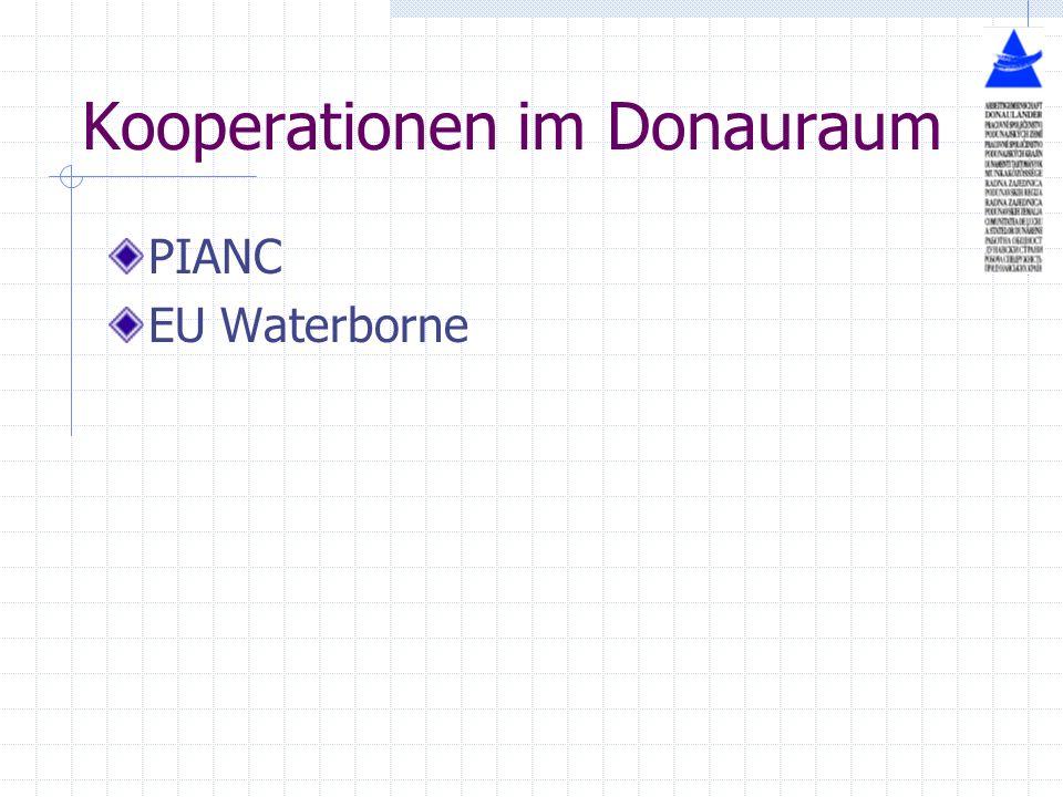 Kooperationen im Donauraum PIANC EU Waterborne