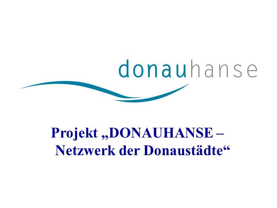 Projekt DONAUHANSE – Netzwerk der Donaustädte