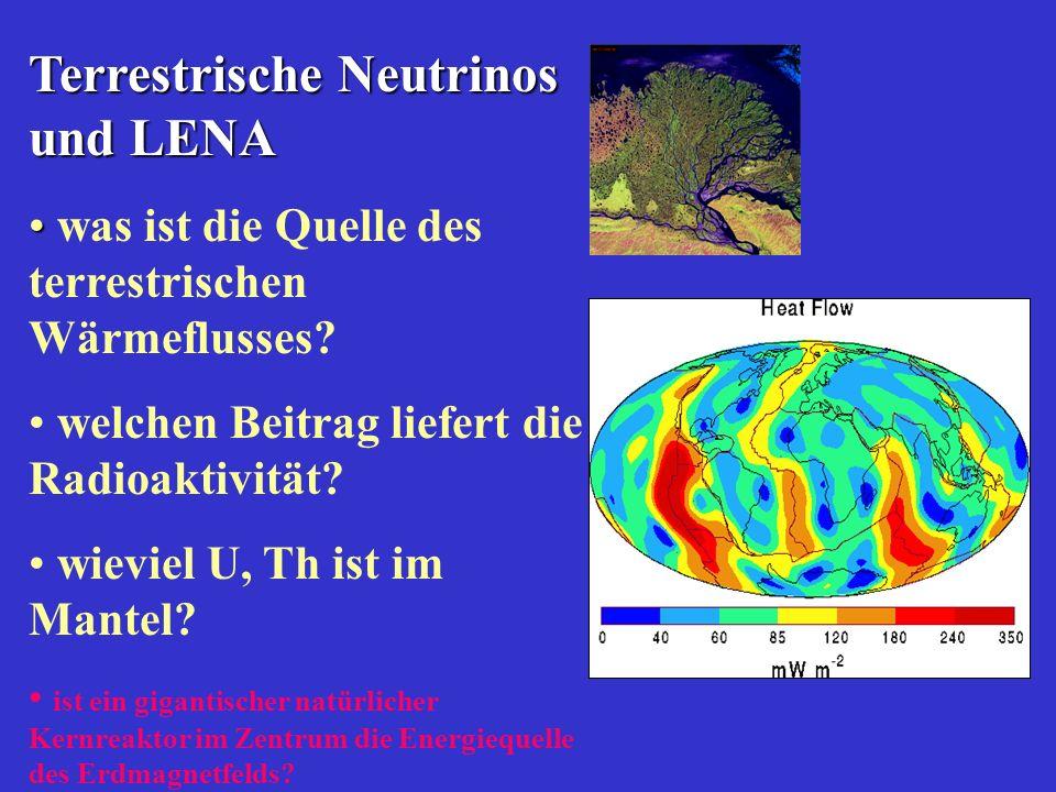 Terrestrische Neutrinos und LENA was ist die Quelle des terrestrischen Wärmeflusses.