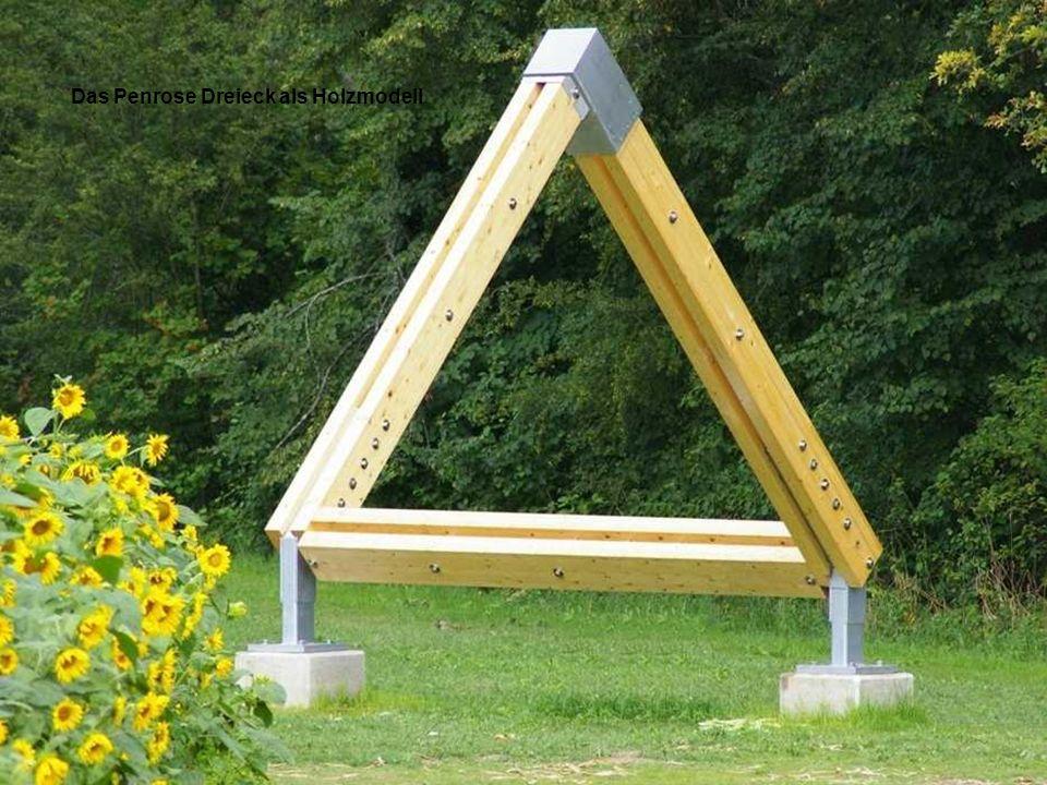 Die Penrose-Illusion Das Penrose Dreieck weiter mit Mausklick