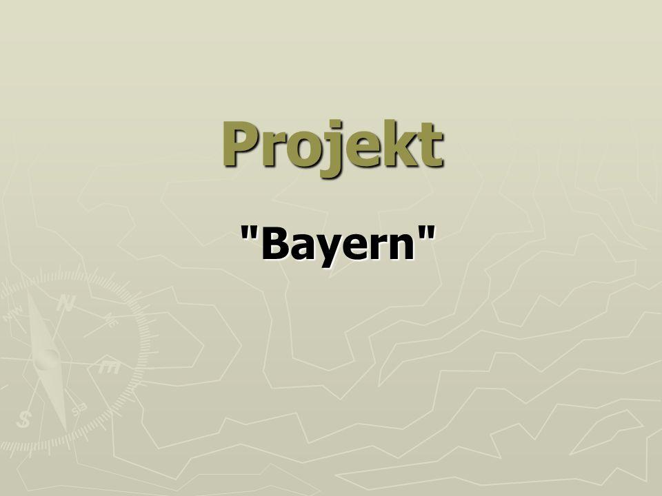 Der Freistaat Bayern - - ist ein Land im Südosten der Bundesrepublik Deutschland.