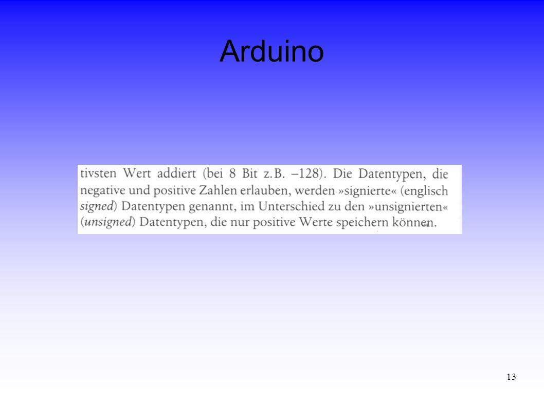 13 Arduino