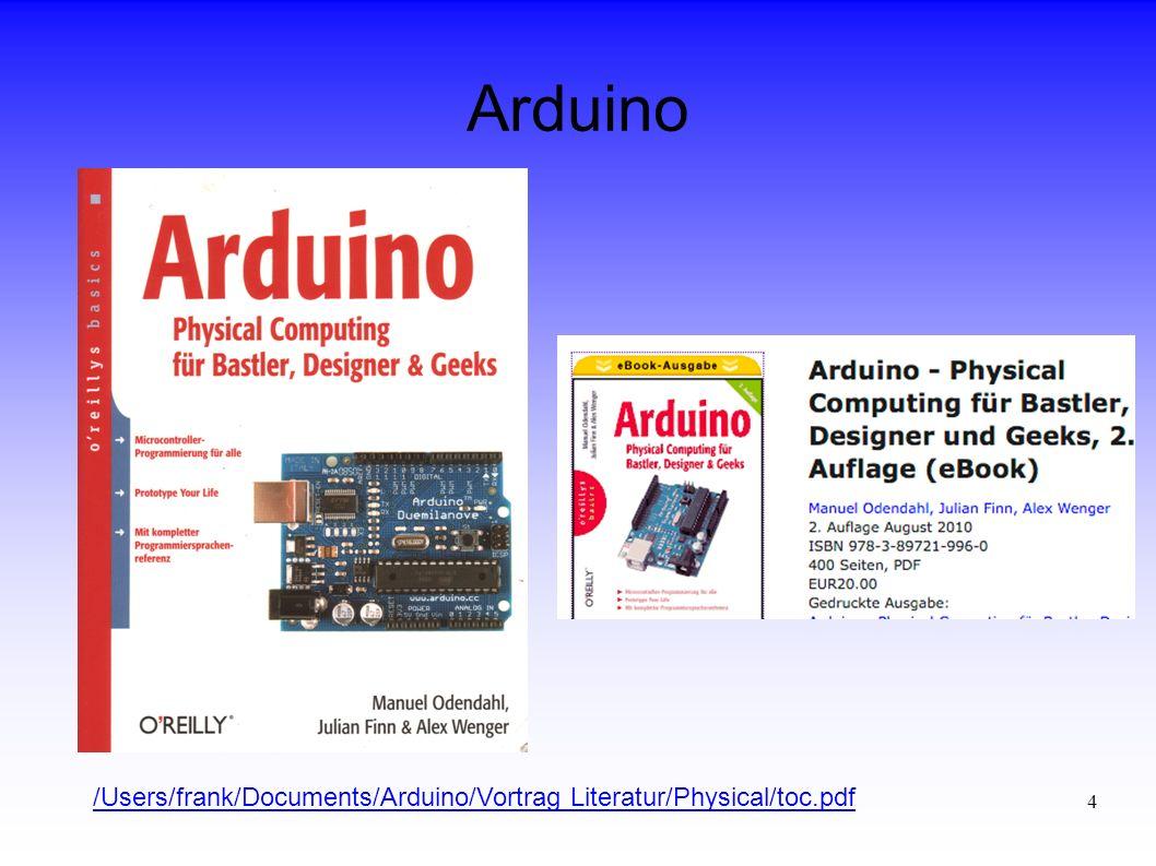 25 Arduino Fazit Unterschiedliche Schwerpunkte Im ersten und dritten Buch zu viele sachliche Fehler, die vor allem Anfängern die Arbeit sehr erschweren oder sogar unmöglich machen.