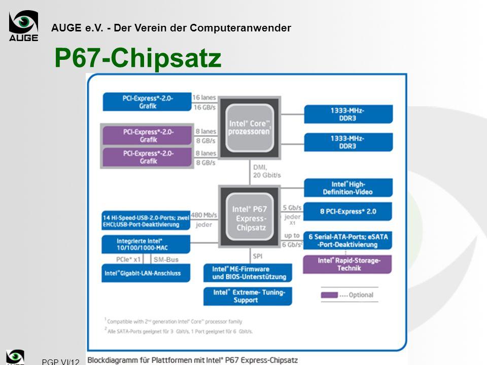 AUGE e.V. - Der Verein der Computeranwender P67-Chipsatz PGP VI/12