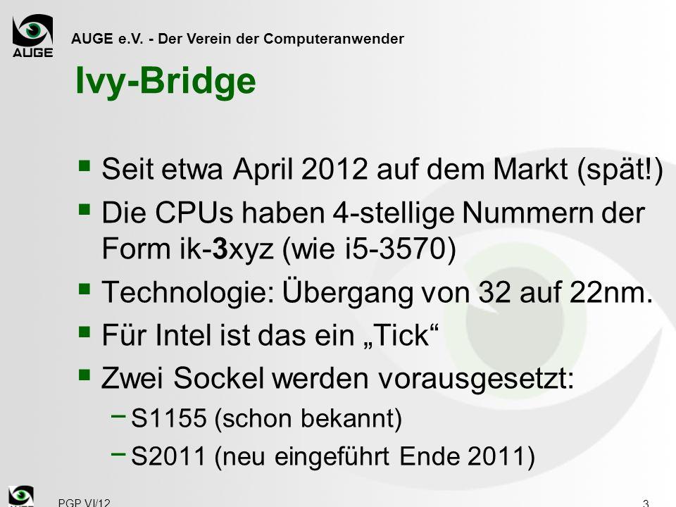 AUGE e.V. - Der Verein der Computeranwender CPU-Typen 14 PGP VI/12