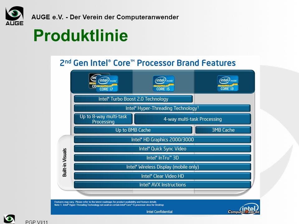 AUGE e.V. - Der Verein der Computeranwender PGP VI/11 Produktlinie
