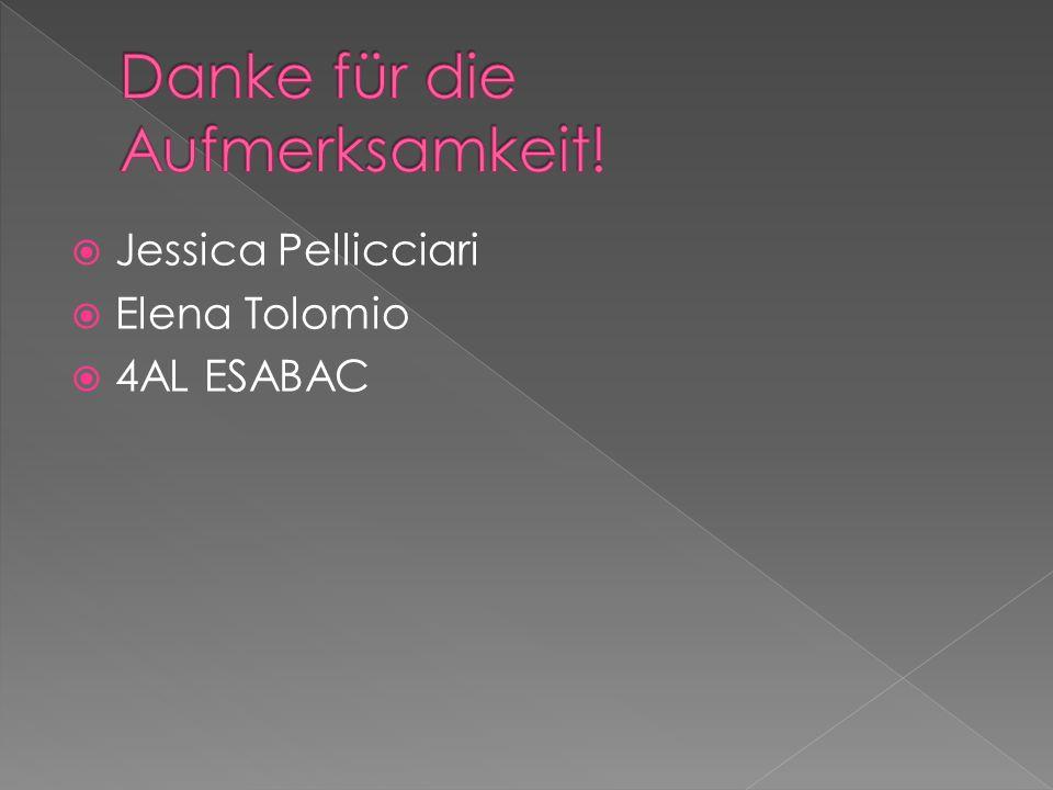 Jessica Pellicciari Elena Tolomio 4AL ESABAC