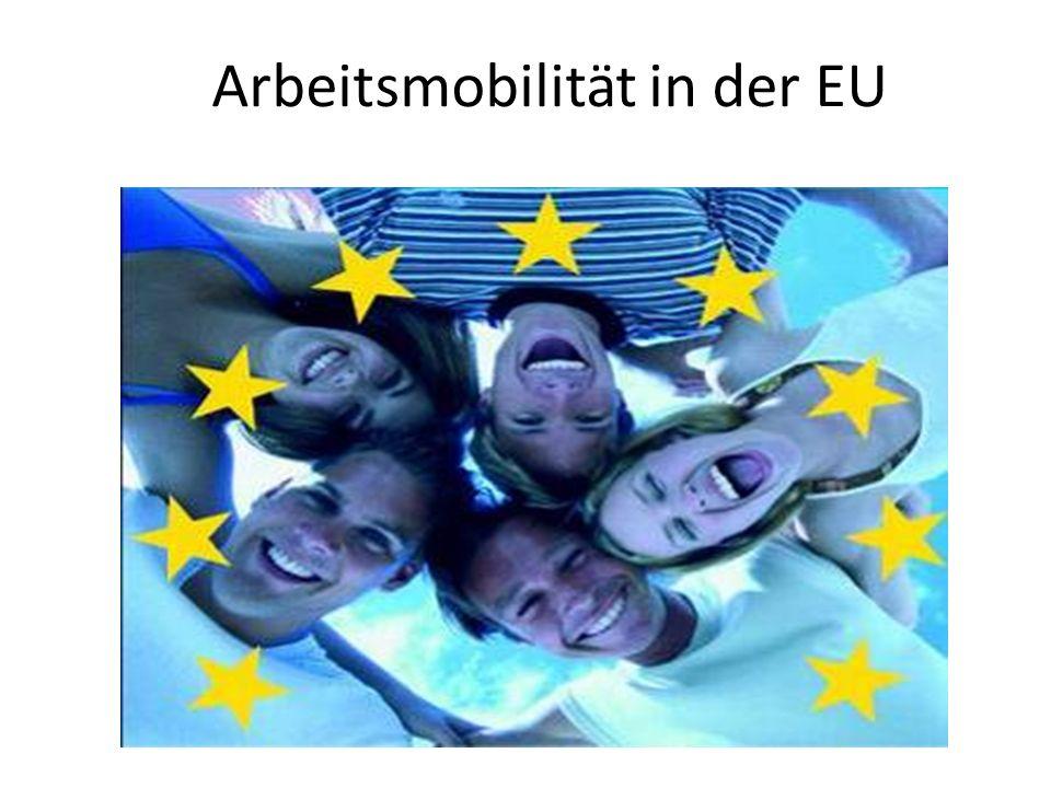 Arbeitsmobilität in der EU