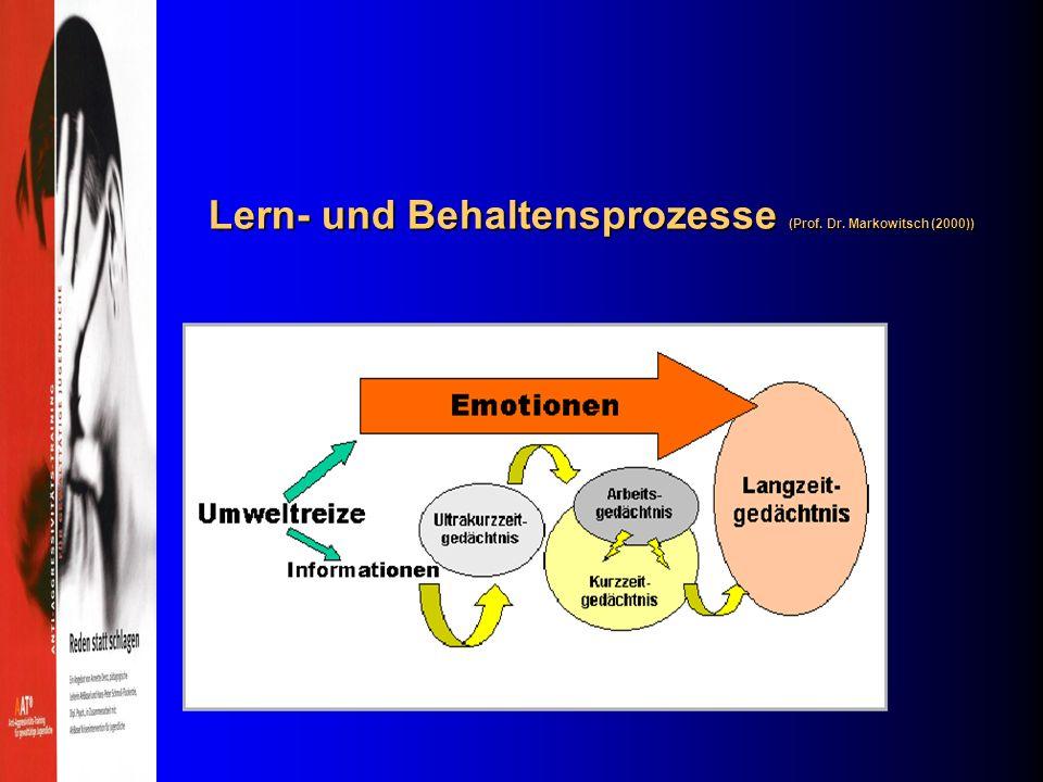 Institut für Konfrontative Pädagogik; (IKS): A.Denz; H.-P.Schmoll-Flockerzie 5 Verstehen, aber nicht einverstanden sein: Das lerntheoretisch – kogniti