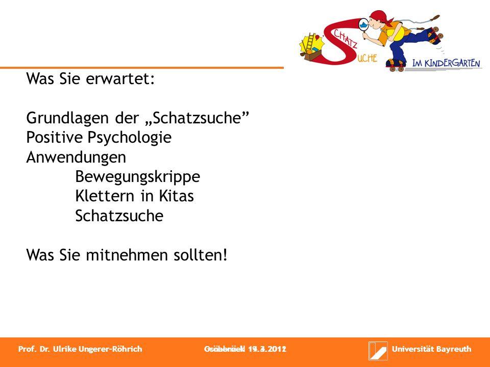 Systemische Ansätze Ganzheitliches Gesundheitsmodell Schatzsuche Positive Psychologie (Sport)Pädagogische Konzepte Prof.