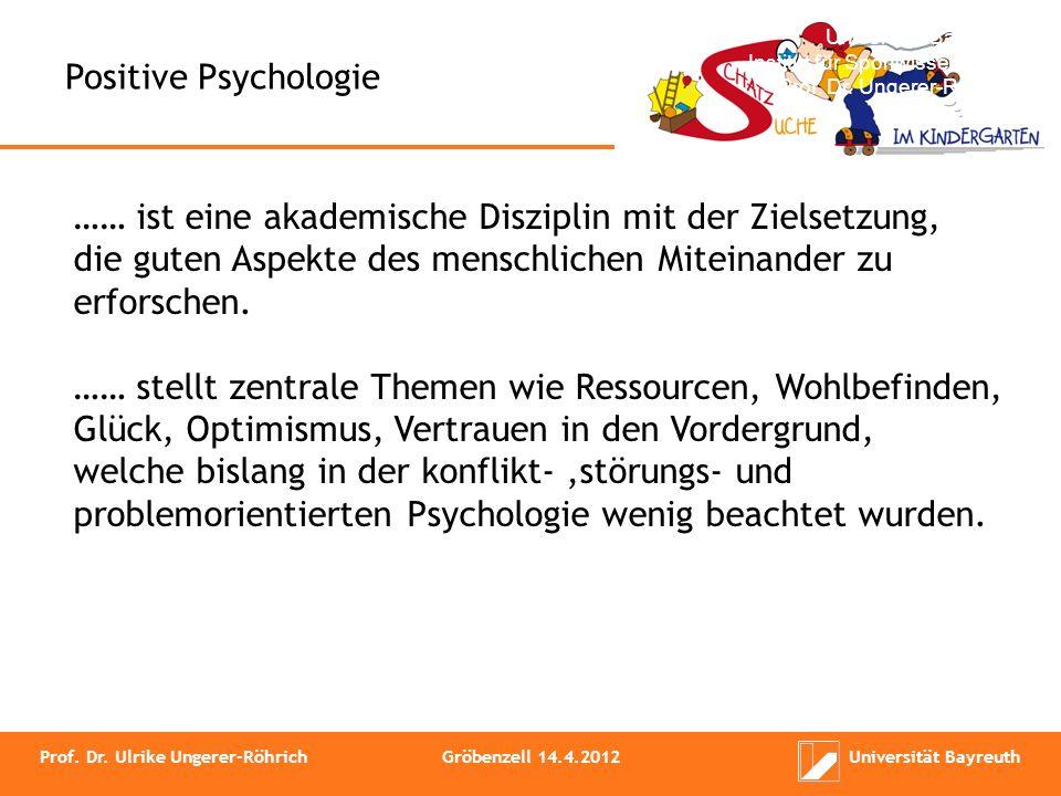 Die Positive Psychologie verlässt den Forschungsschwerpunkt der defizitären Aspekte und wendet sich der Erforschung dessen zu, was den Menschen stärkt und das Leben lebenswerter macht.
