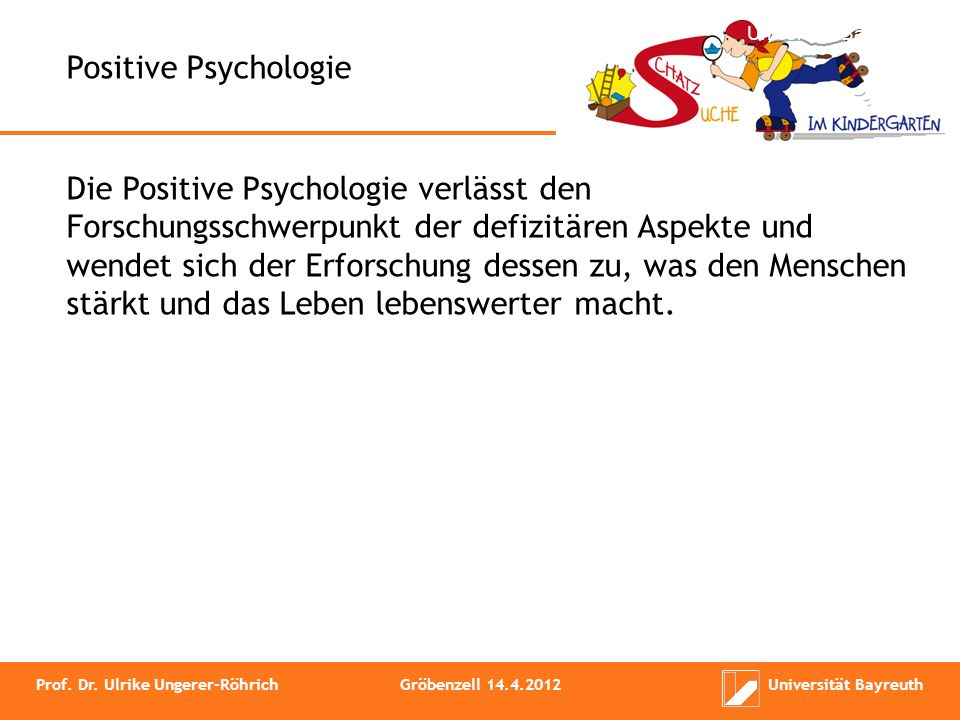 Worüber arbeitet die Psychologie.