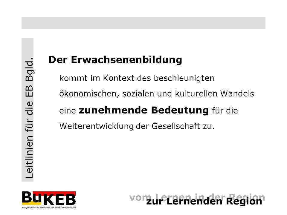 Leitlinien für die EB Bgld. www.bukeb.at.