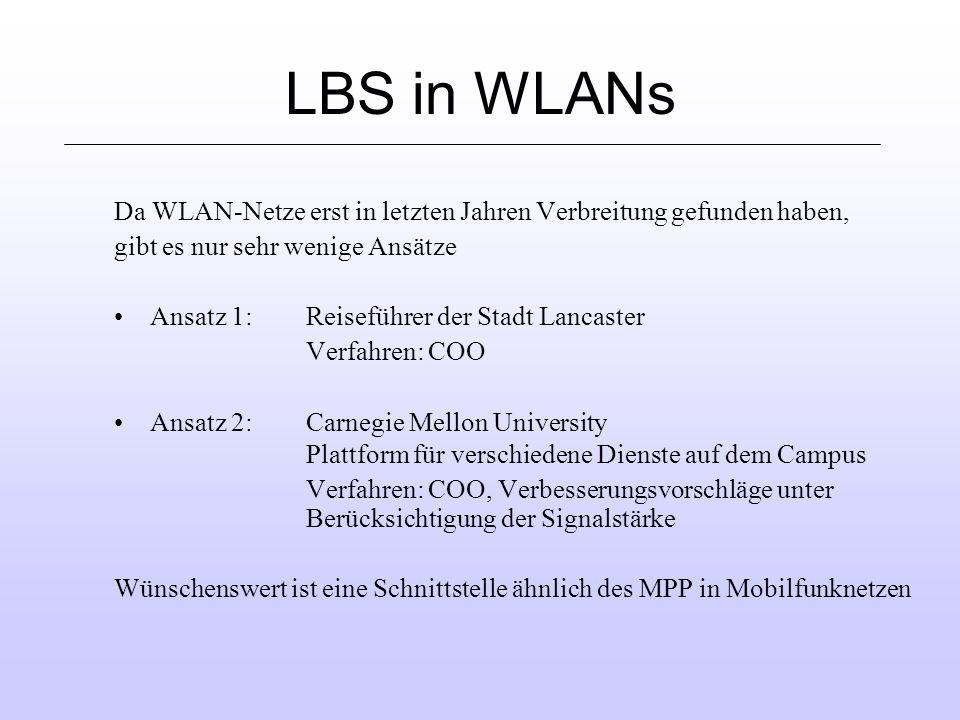Anforderungen an LBS Skalierbarkeit Kann die Plattform auch große Datenmengen verwalten.