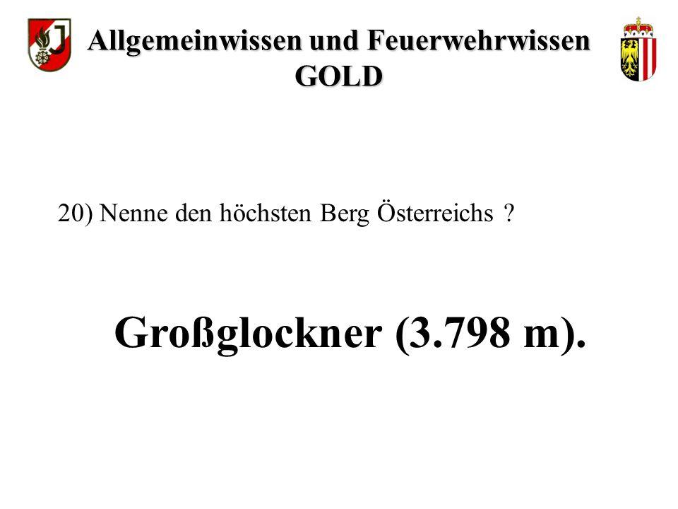 ca. 8,0 Mio. Einwohner. 19) Wie viele Einwohner hat Österreich .