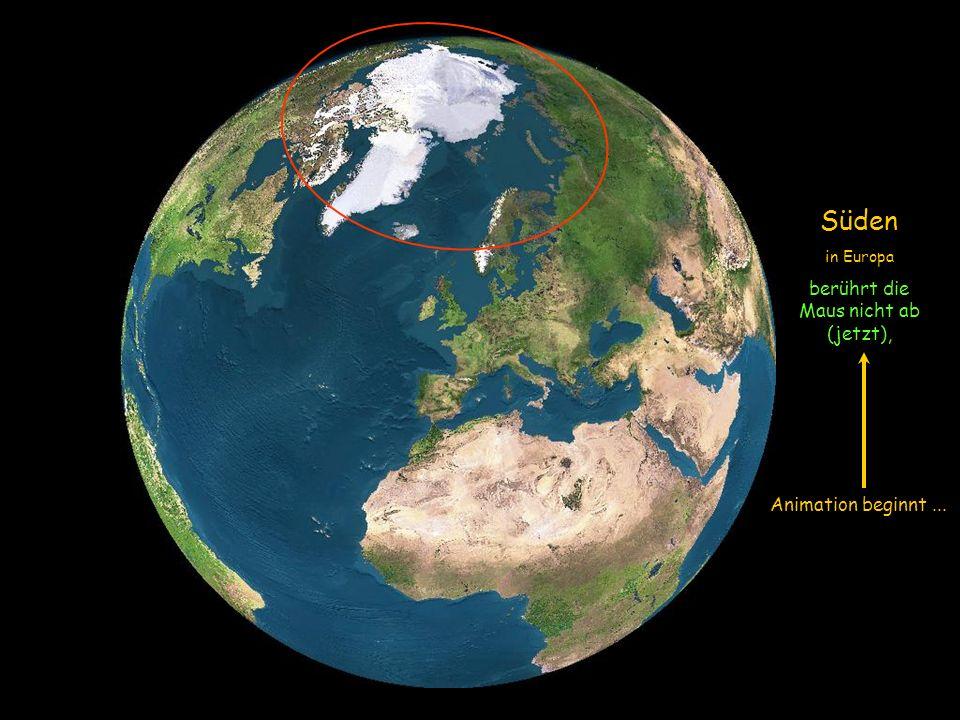 Wir werden einer Simulation in Bildern von Satelliten folgen und zu sehen, wie die Sonne die Erde am 21. Juni erleuchtet, (Sommersonnenwende, der läng
