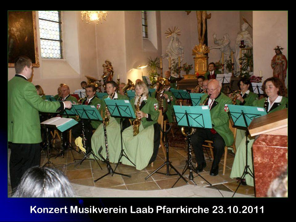 Konzert Musikverein Laab Pfarrkirche 23.10.2011