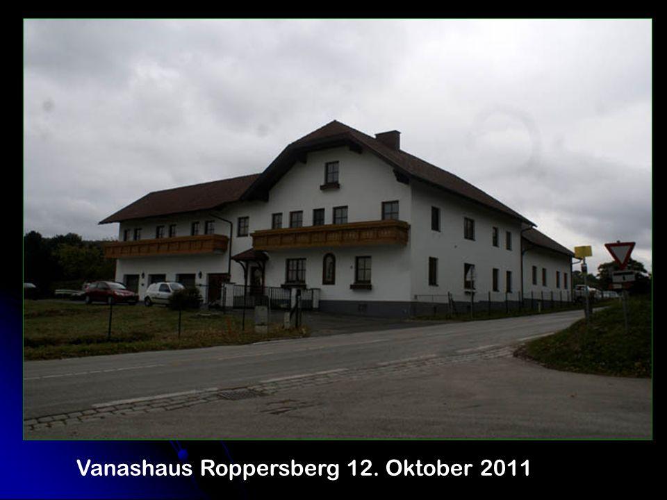 Vanashaus Roppersberg 12. Oktober 2011