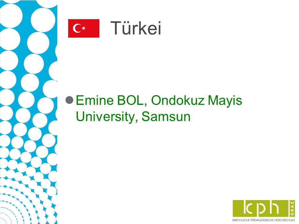 Türkei Emine BOL, Ondokuz Mayis University, Samsun