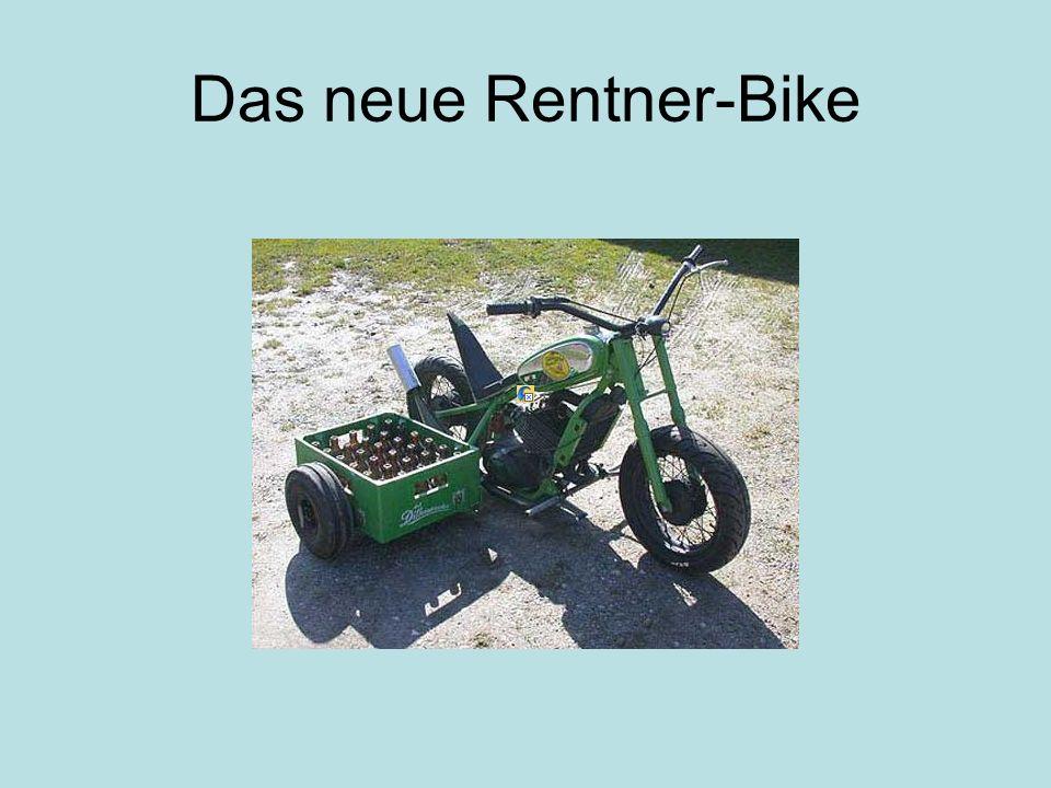 Das neue Rentner-Bike