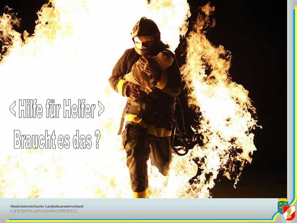 These Organisierte Unterstützung der Feuerwehrmitglieder bei der psychischen Bewältigung belastender Einsätze erfolgt im Interesse der Feuerwehr und muss den Führungskräften ein ernstes Anliegen sein.