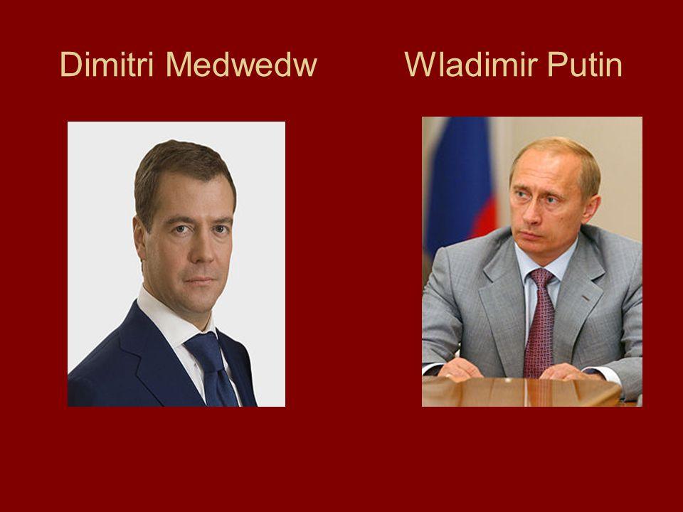 Dimitri Medwedw Wladimir Putin