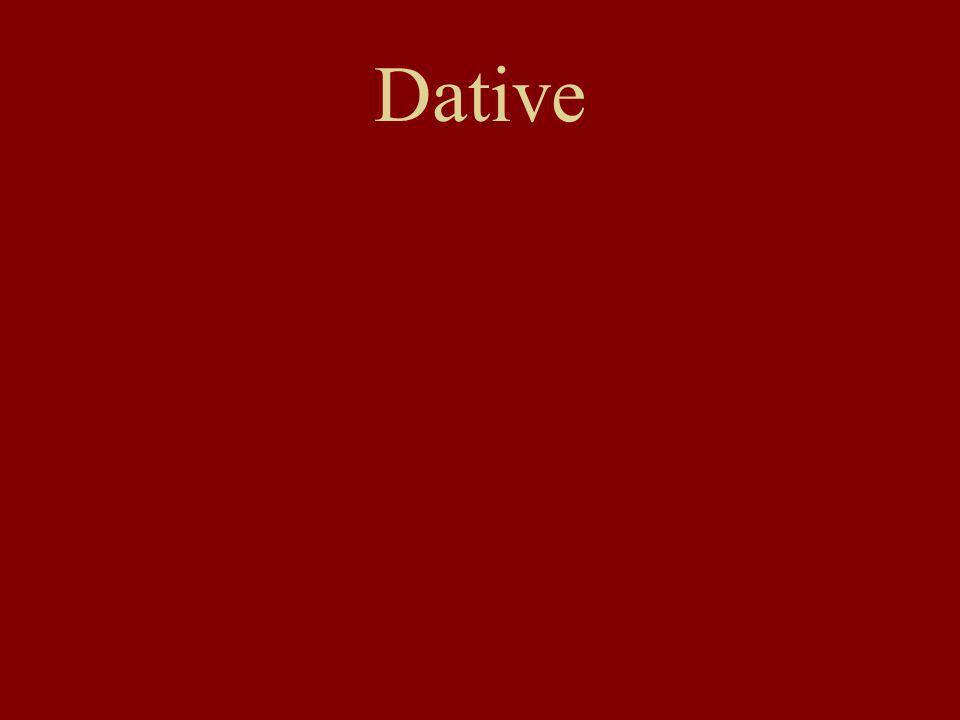 Dative