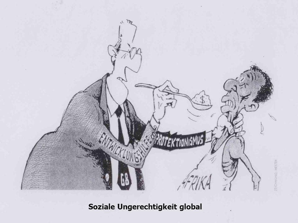 Soziale Ungerechtigkeit global