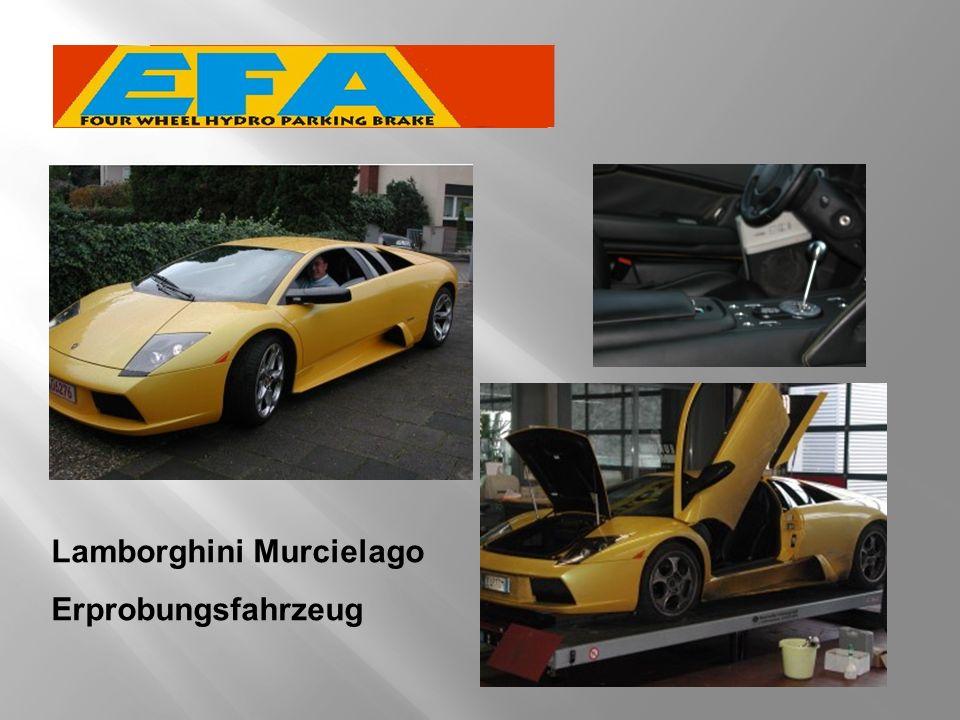 Lamborghini Murcielago Erprobungsfahrzeug