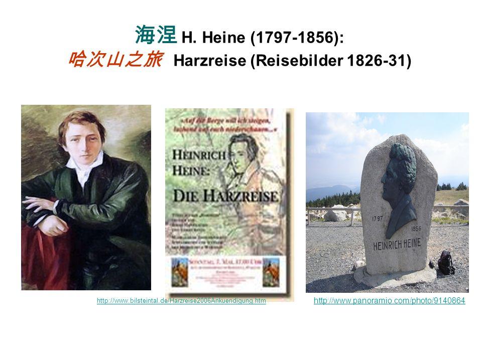 Harz in der Geschichte http://www.ovgu.de/org/ovgg/deutsch/harza/brocken.htm